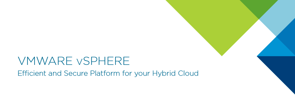 VMware vSphere - Secure Platform